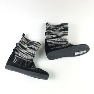 Toms Black Suede Nepal Boot H6514868
